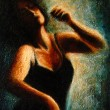 An awakening – a sensual melting of bones as you wake up with an earthy grounded feline purr, Lisa Corston-Buddle
